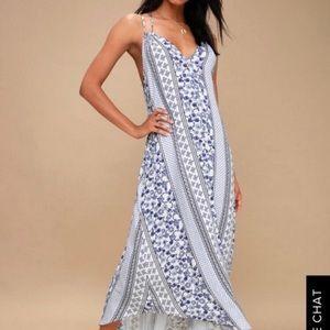 Lulu's Boho Maxi Dress